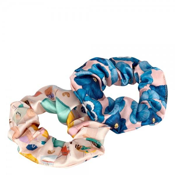 Scrunchies 2er-Set Barceloneta & Azur