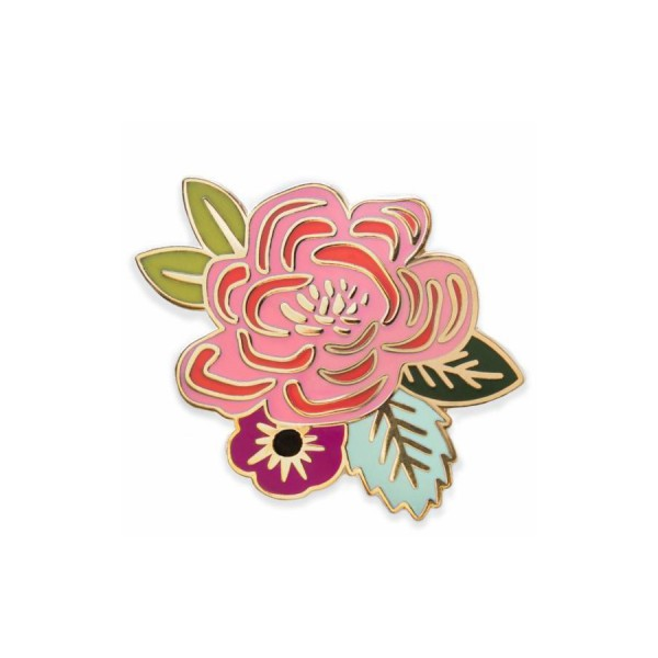 Pin Juliet Rose Emaille
