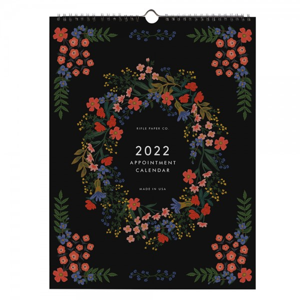 2022 Wandkalender Appointment Luxembourg