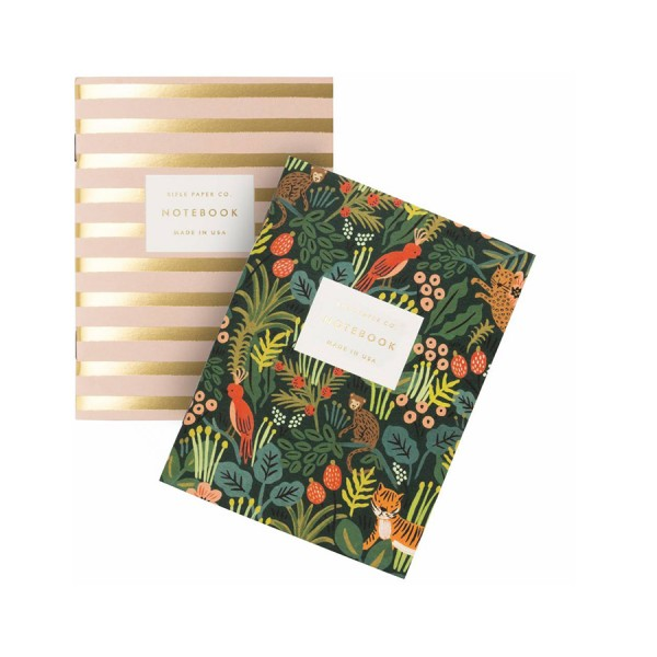 Pocket Notebook 2er-Set Jungle - blanko