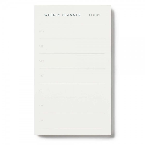 Notepad Weekly Planner small