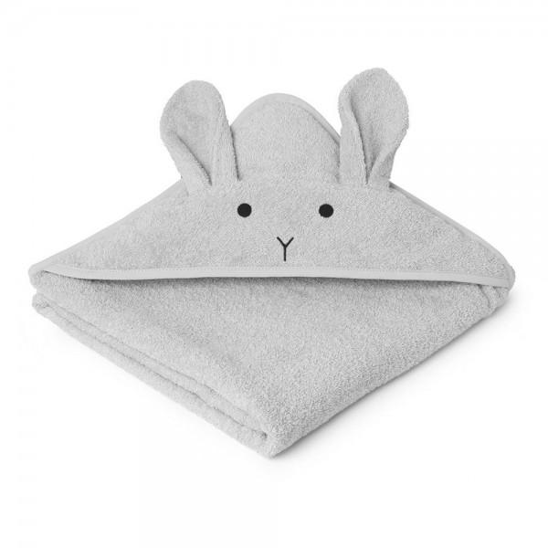 Kapuzenhandtuch Augusta 100x100cm Rabbit dumbo grey